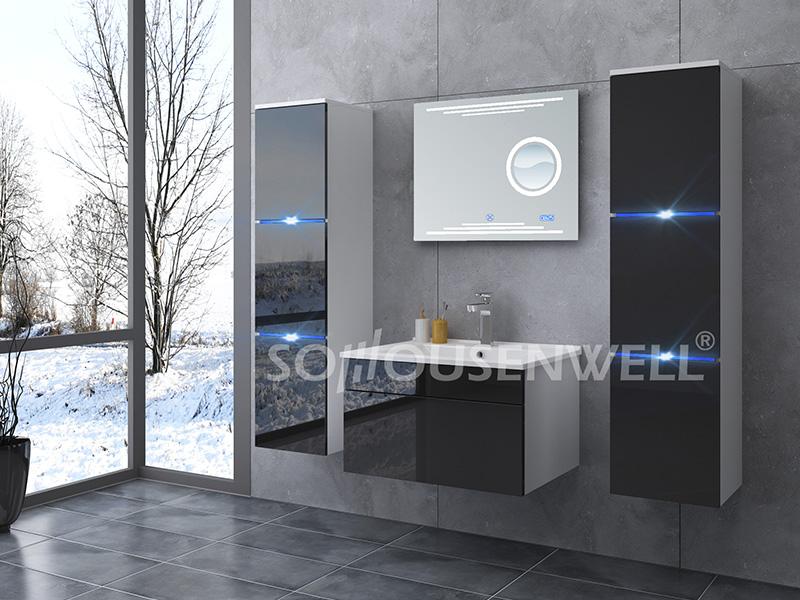 HS-E1902 Antique luxury furniture bathroom cabinet designer make up vanity