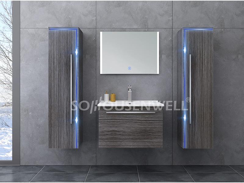 HS-E1907 Hot sale bathroom cabinet new luxury toilet bathroom vanities combo