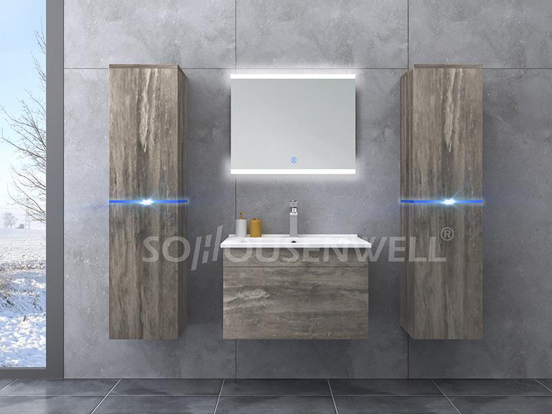 HS-E1948 Highlight appearace bathroom cabinet new design bathroom vanity
