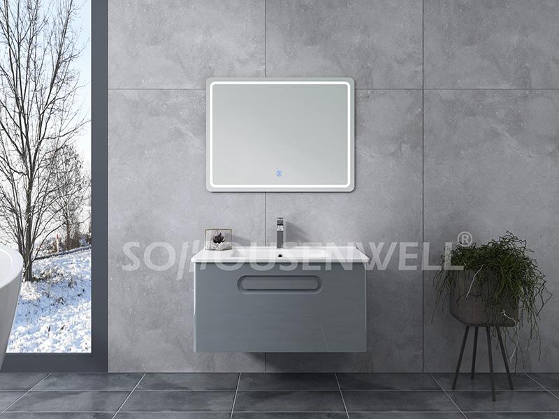 HS-E1964 Bathroom furniture cheap corner mirror cabinet bathroom vanity