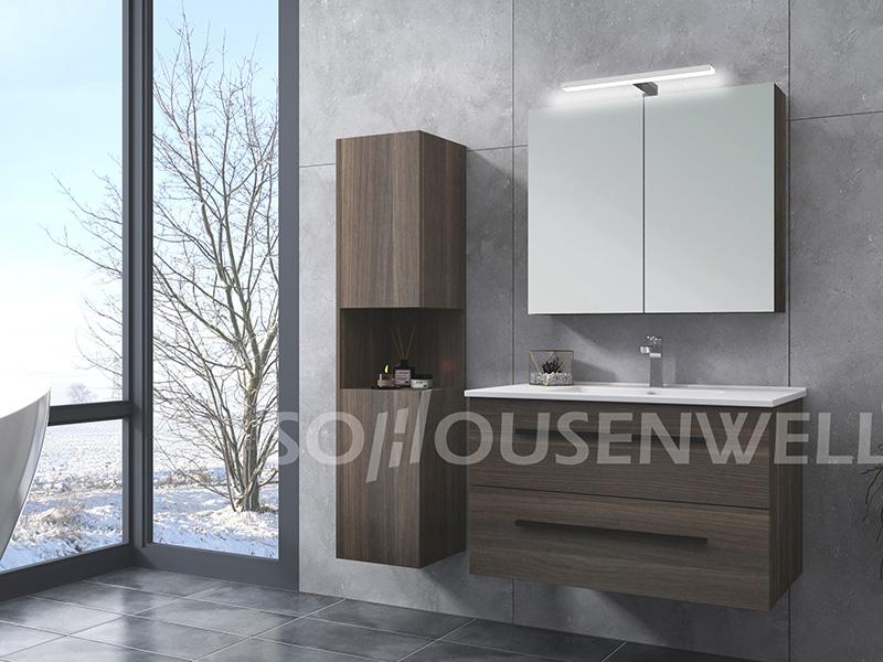 HS-E1990 European style bathroom vanity hotel bathroom furniture bathroom mirror cabinet
