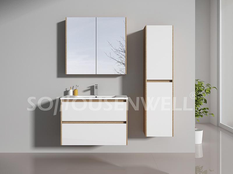 HS-E1991 Bathroom cabinet bathroom furniture  bathroom vanity with mirror