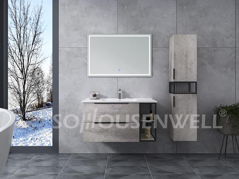 HS-E1996 Bathroom vanity antique furniture supply bathroom furniture fashion