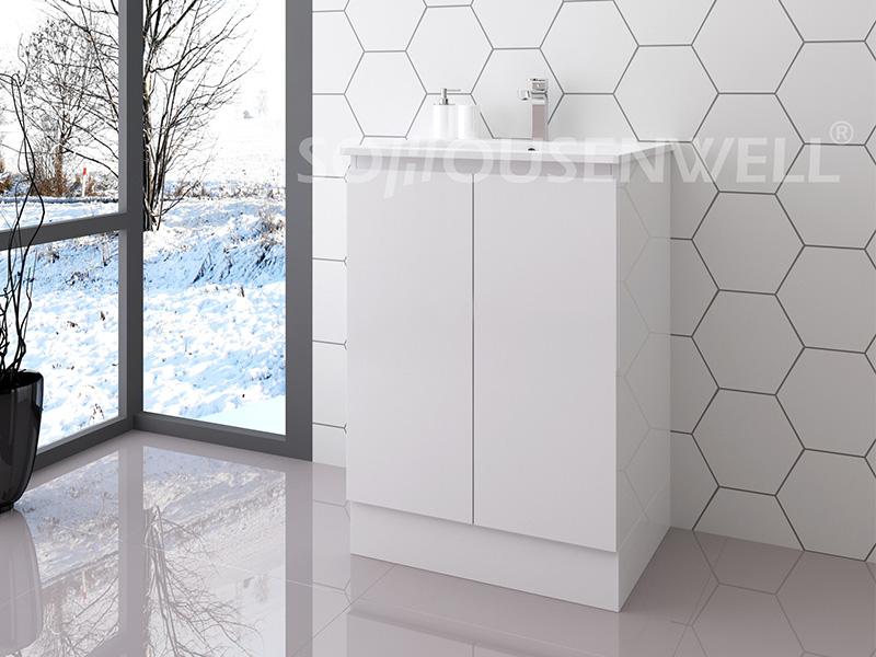 Ela-600 Floor-standing toilets cabinet bathroom furniture modern bathroom vanity