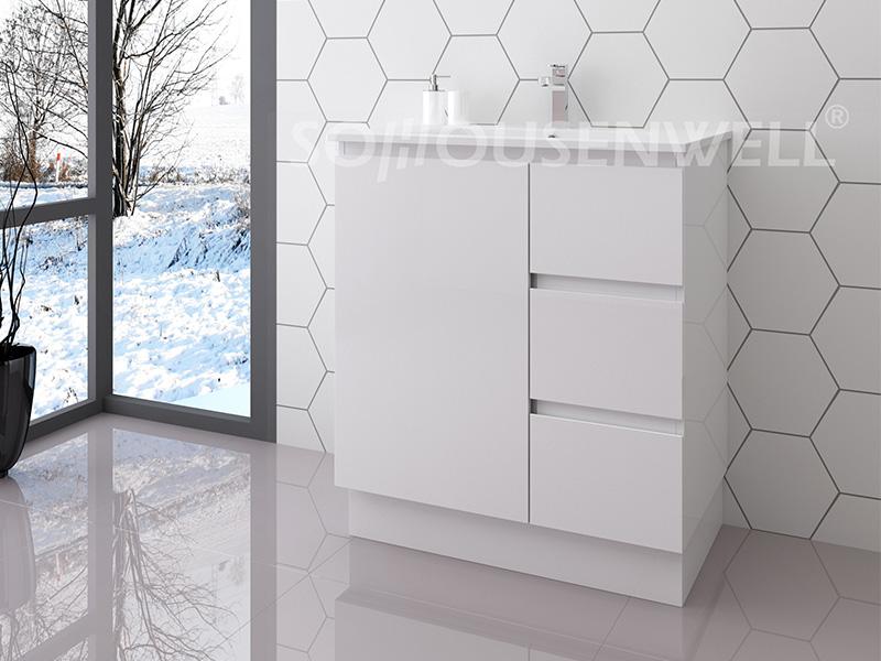 Ela-750 Floor-standing toilets cabinet bathroom furniture modern bathroom vanity